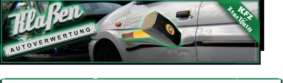 Klaßen Autoverwertung | Tel.: +49 (0) 2 31 - 85 25 90 |  Seilerstraße 19 | 44147 Dortmund
